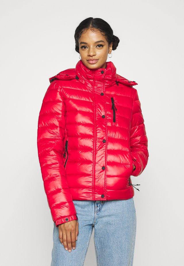 SHINE FUJI  - Zimní bunda - rouge red