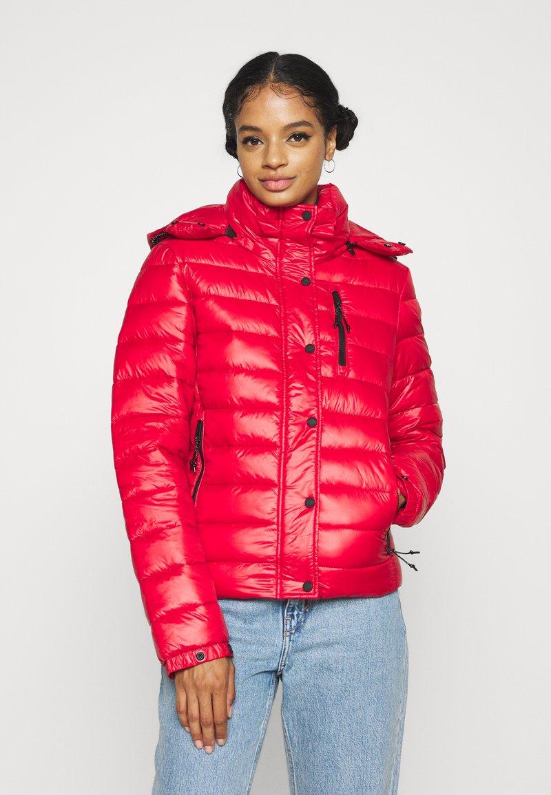 Superdry - SHINE FUJI  - Winter jacket - rouge red