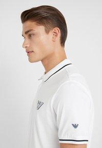 Emporio Armani - Koszulka polo - white - 3