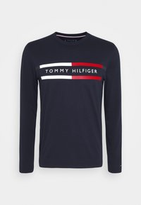 Tommy Hilfiger - CHEST STRIPE - Long sleeved top - blue - 4