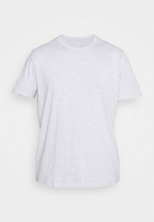 T-Shirt basic - mottled grey