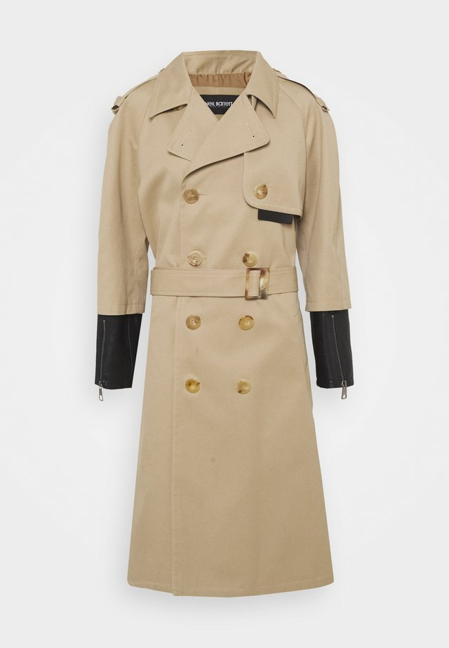 Trench - beige/black