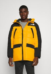 The North Face - HIMALAYAN INSULATED PARKA - Vinterfrakker - summit gold/black - 0