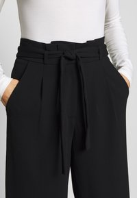 JDY - JDYTANJA CULOTTE ANKLE PANT - Trousers - black - 4