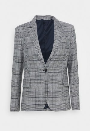 CHECK REGULAR BLAZER - Blazer - evening blue