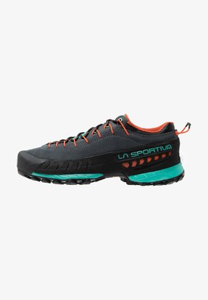 TX4 WOMAN - Hiking shoes - carbon/aqua