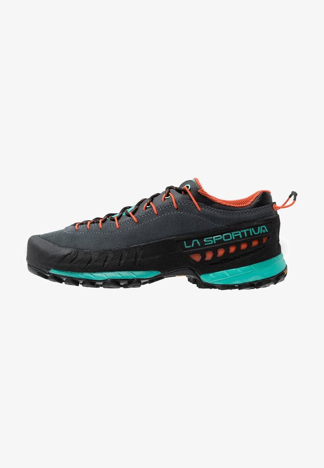 TX4 WOMAN - Hikingschuh - carbon/aqua