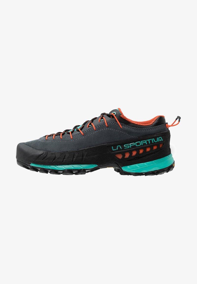 La Sportiva - TX4 WOMAN - Hiking shoes - carbon/aqua