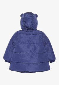 mothercare - BABY PADDED COAT DUVET WRAP HEART - Winter coat - navy