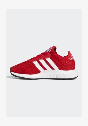 SWIFT RUN X SHOES - Trainers - scarlet/ftwr white/core black