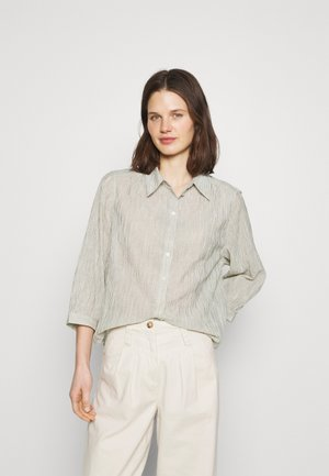 FISANA - Button-down blouse - milk