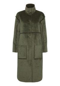 Denim Hunter - DHBELLE SHEARLING COAT - Płaszcz wełniany /Płaszcz klasyczny - forest night - 9