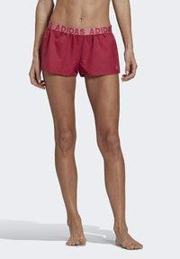 adidas Performance - BEACH SHORTS - Swimming shorts - pink - 0