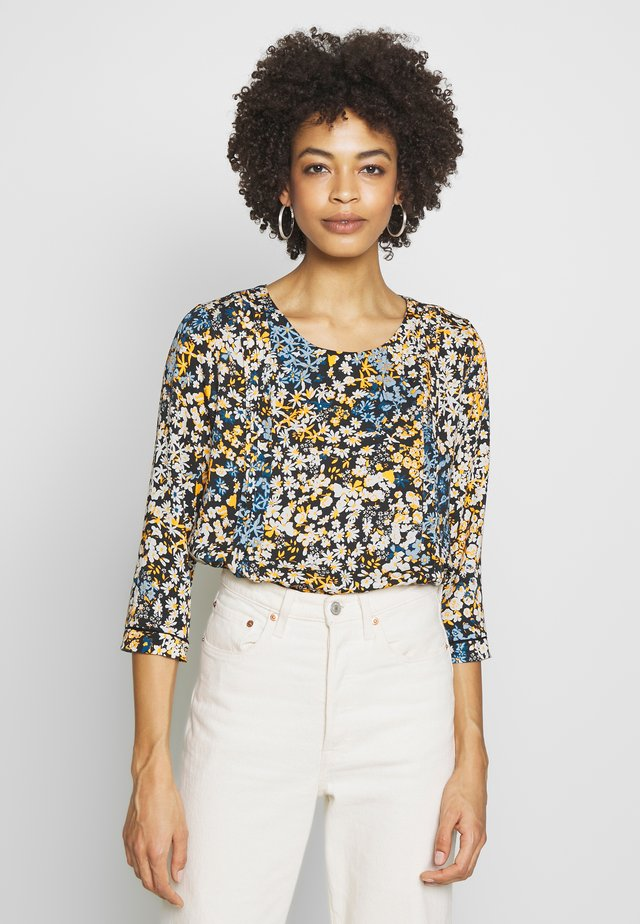 ALTA FLORAL - Blouse - sudan brown