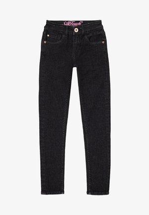 Slim fit jeans - black vintage