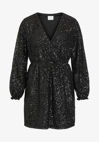 Vila - Cocktail dress / Party dress - black - 5