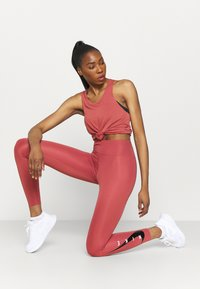 Nike Performance - BREATHE TANK COOL - Top - canyon rust/reflective silver - 1