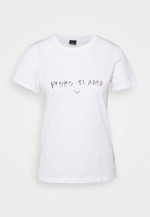 ARNOLD  - T-shirts med print - white