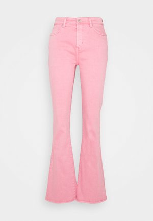 TARA  VINTAGE - Jean flare - candy pink