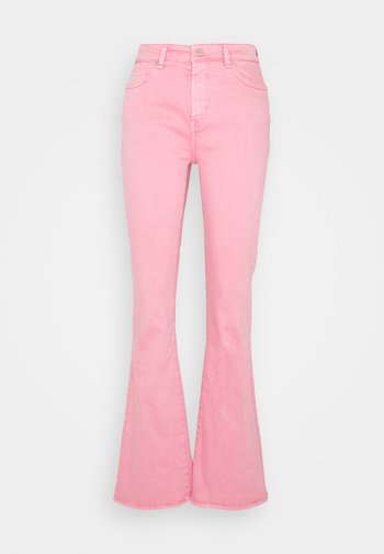 TARA  VINTAGE - Flared jeans - candy pink