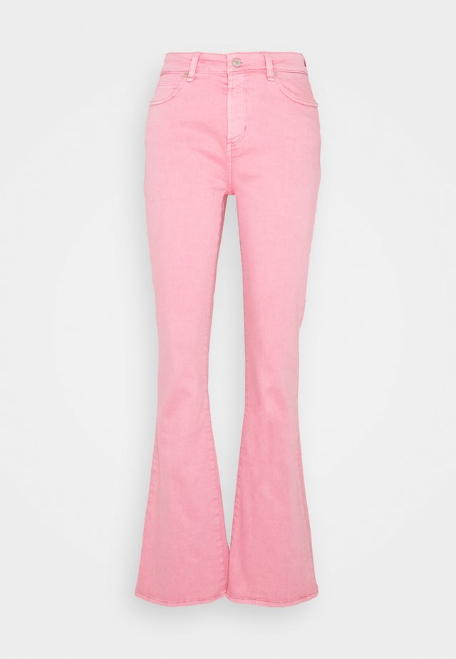 TARA  VINTAGE - Flared Jeans - candy pink