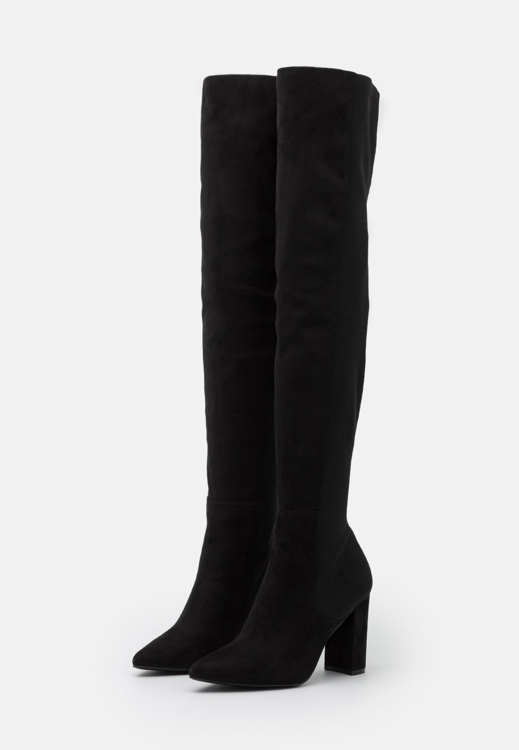 Steve Madden EVERLEY High Heel Stiefel black/schwarz
