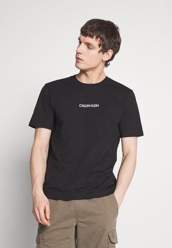 SHADOW LOGO  - Print T-shirt - black