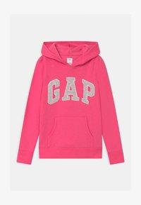 GAP - GIRLS LOGO - Sweat à capuche - pink jubilee - 0