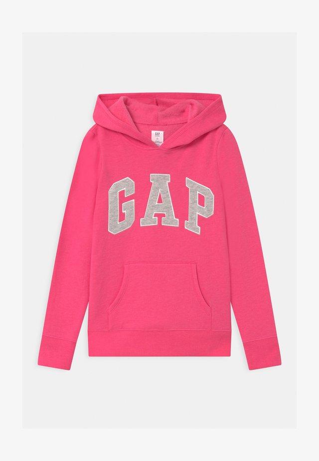 GIRLS LOGO - Felpa con cappuccio - pink jubilee