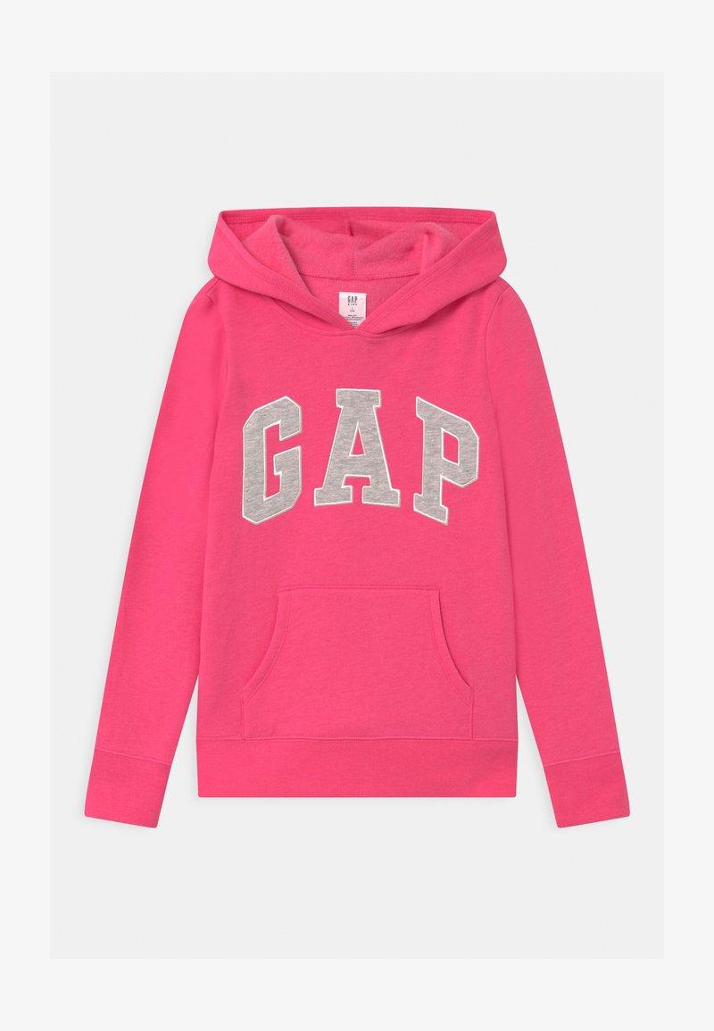 GAP - GIRLS LOGO - Sweat à capuche - pink jubilee