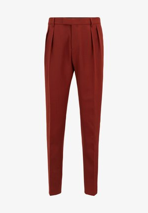 FRENCIS - Trousers - brown