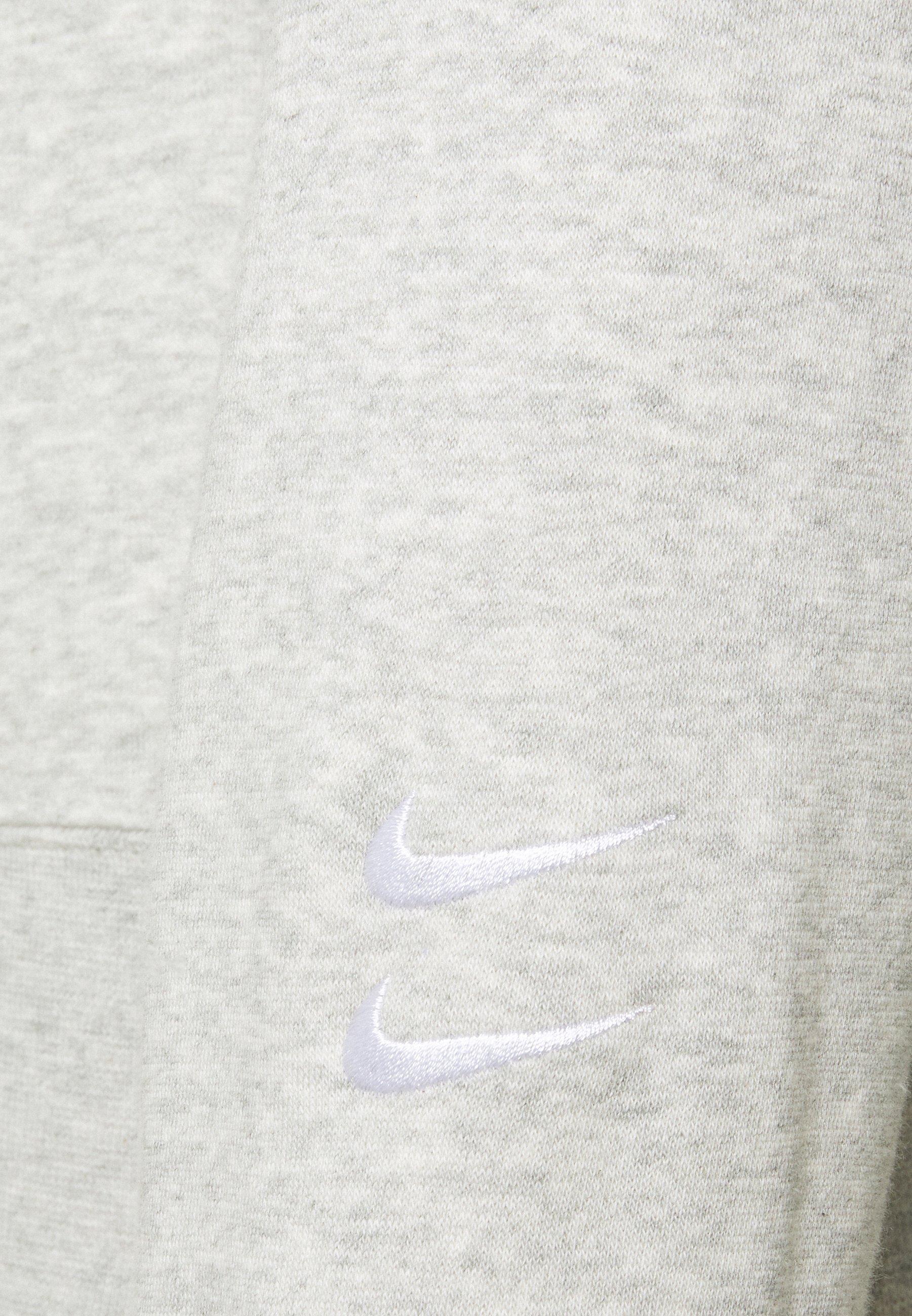 Nike Sportswear Crew - Sweatshirt Grey Heather/white/grå-melert