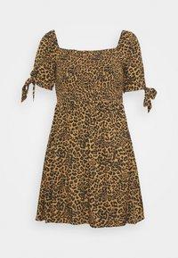 TIE DRESS - Day dress - leo