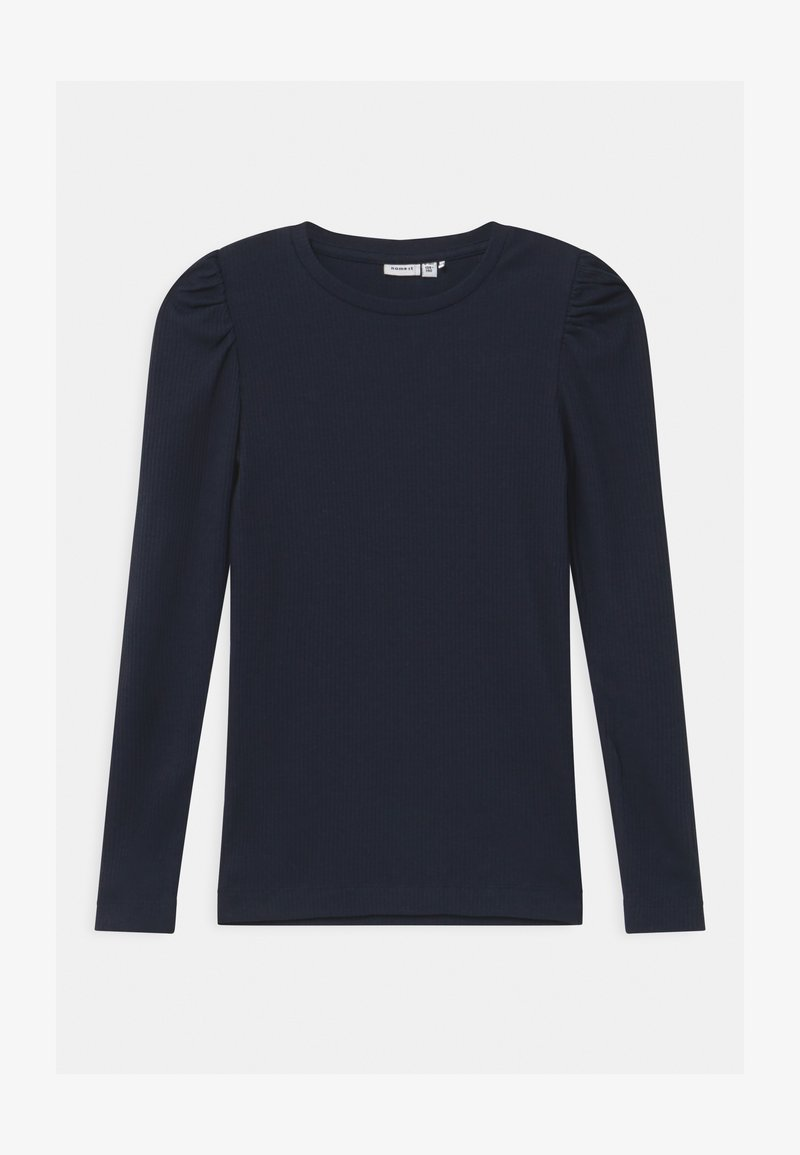 Name it - NOOS - Langærmede T-shirts - dark sapphire