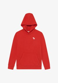 Abercrombie & Fitch - ICON - Jersey con capucha - red - 2