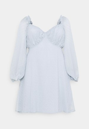 DOBBY MILKMAID - Day dress - blue