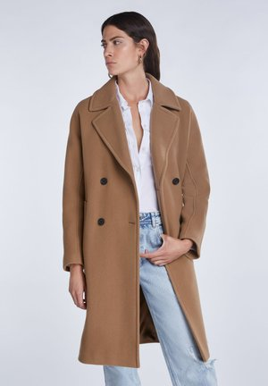 Classic coat - rehbraun