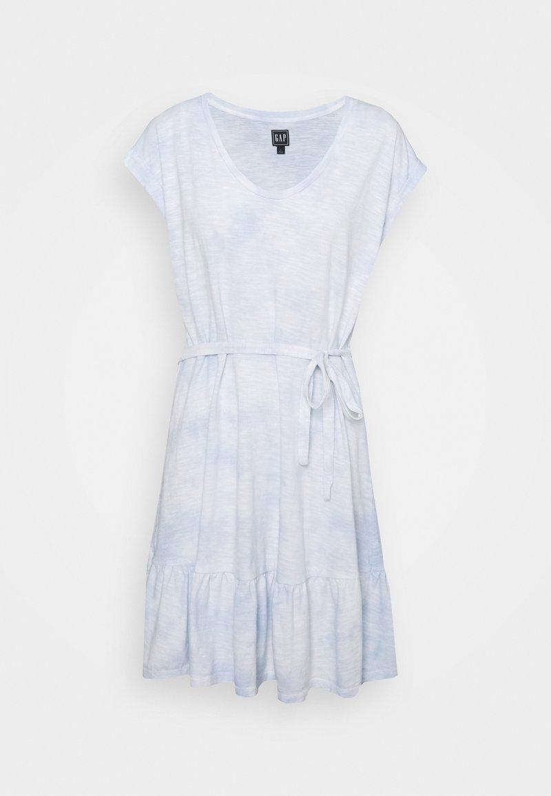 GAP - TIERED - Jersey dress - cloudy blue