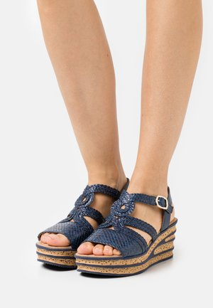 Platform sandals - atlantik