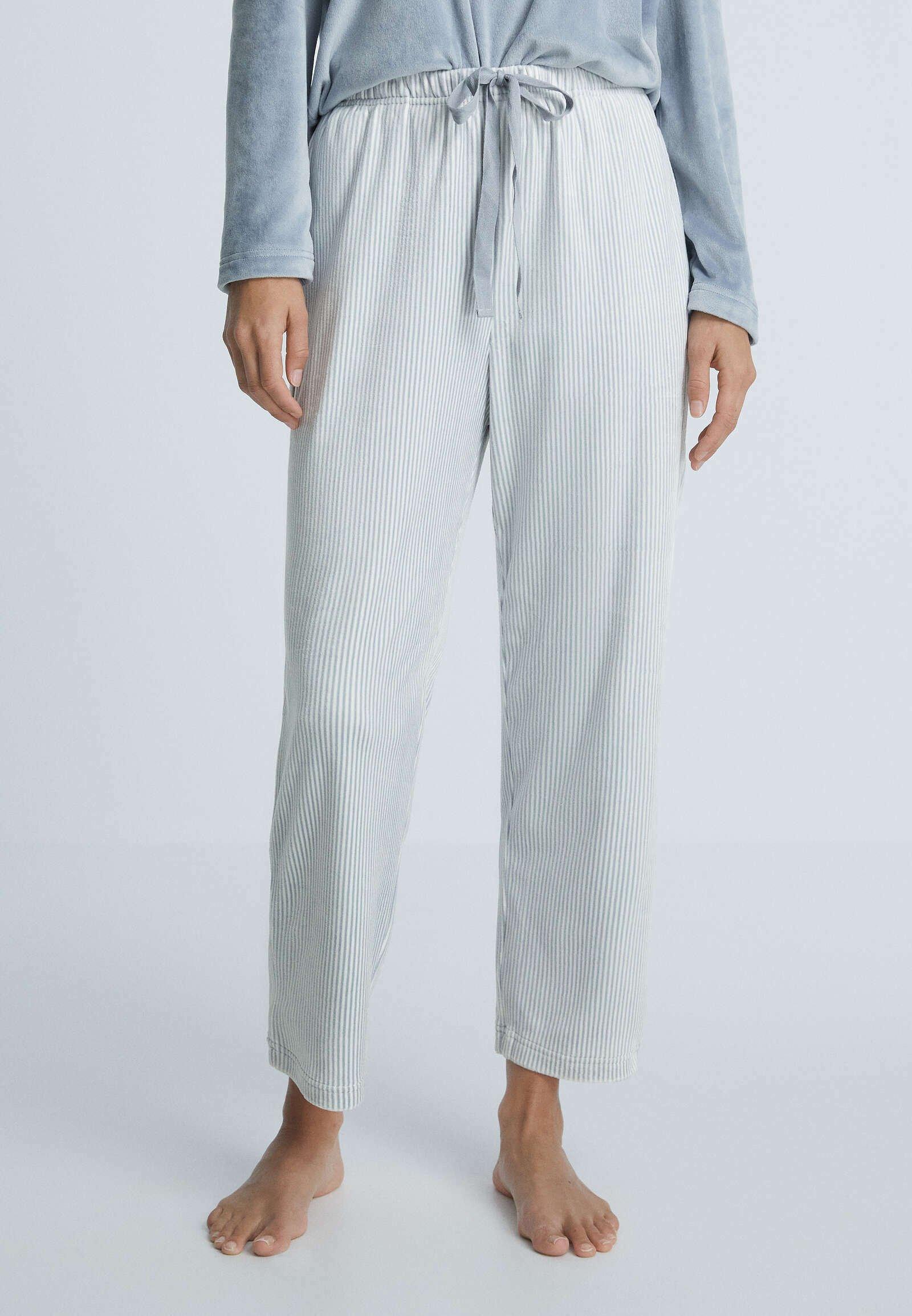 Donna SOFT TOUCH VELOUR - Pantaloni del pigiama