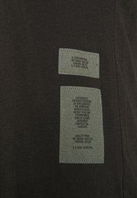 G-Star - MAXI TANK TOP DRESS - Jerseyjurk - dark black - 6