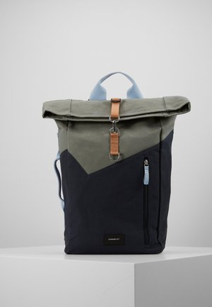 DANTE HOOK - Rucksack - light green/dark blue