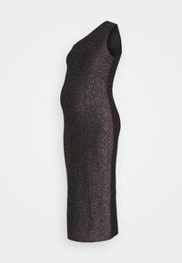 Glamorous Bloom - LADIES DRESS RAINBOW GLITTER  - Juhlamekko - black - 0