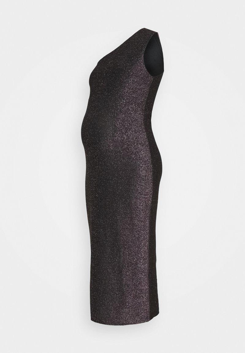 Glamorous Bloom - LADIES DRESS RAINBOW GLITTER  - Juhlamekko - black
