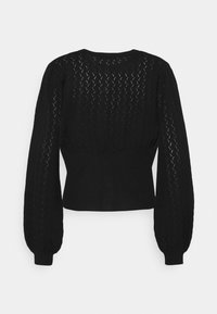 Bruuns Bazaar - ANEMONE MINNA CARDIGAN - Cardigan - black - 1