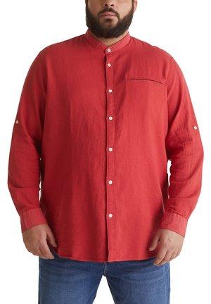 STEHKRAGEN - Shirt - orange red