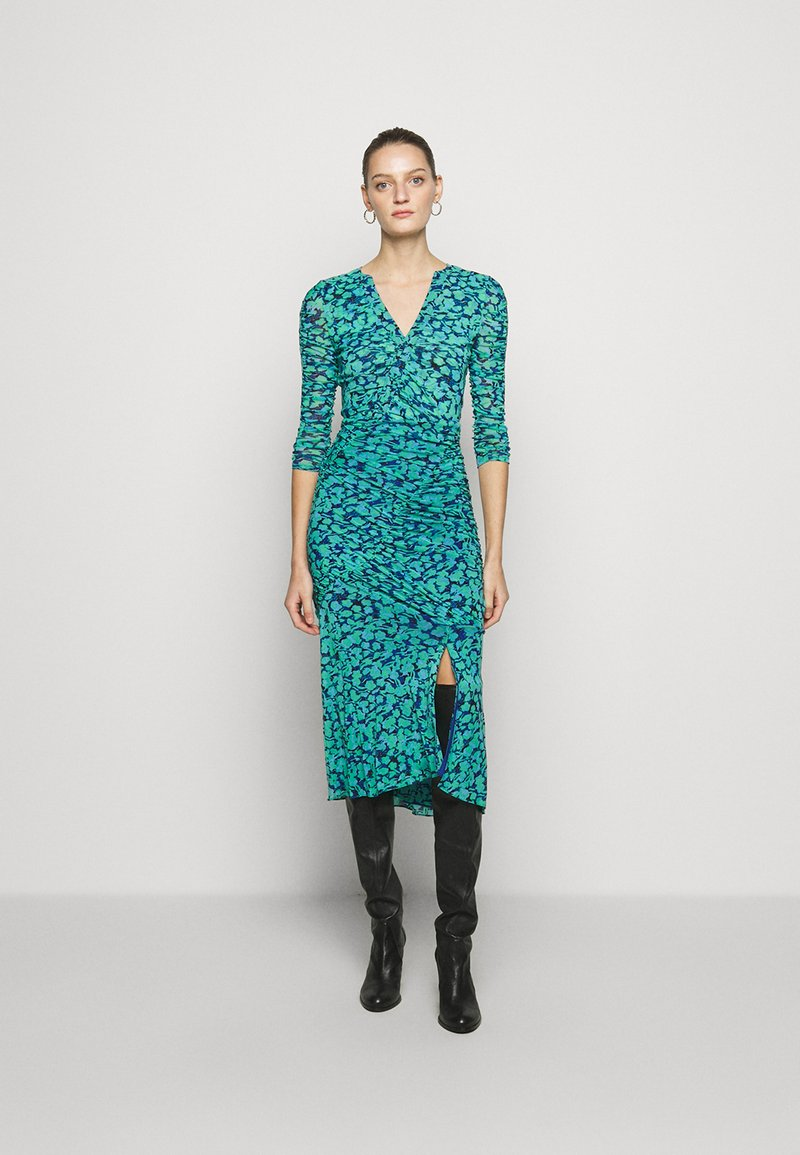 Diane von Furstenberg - BRIELLA - Shift dress - blossom breeze multi ionian