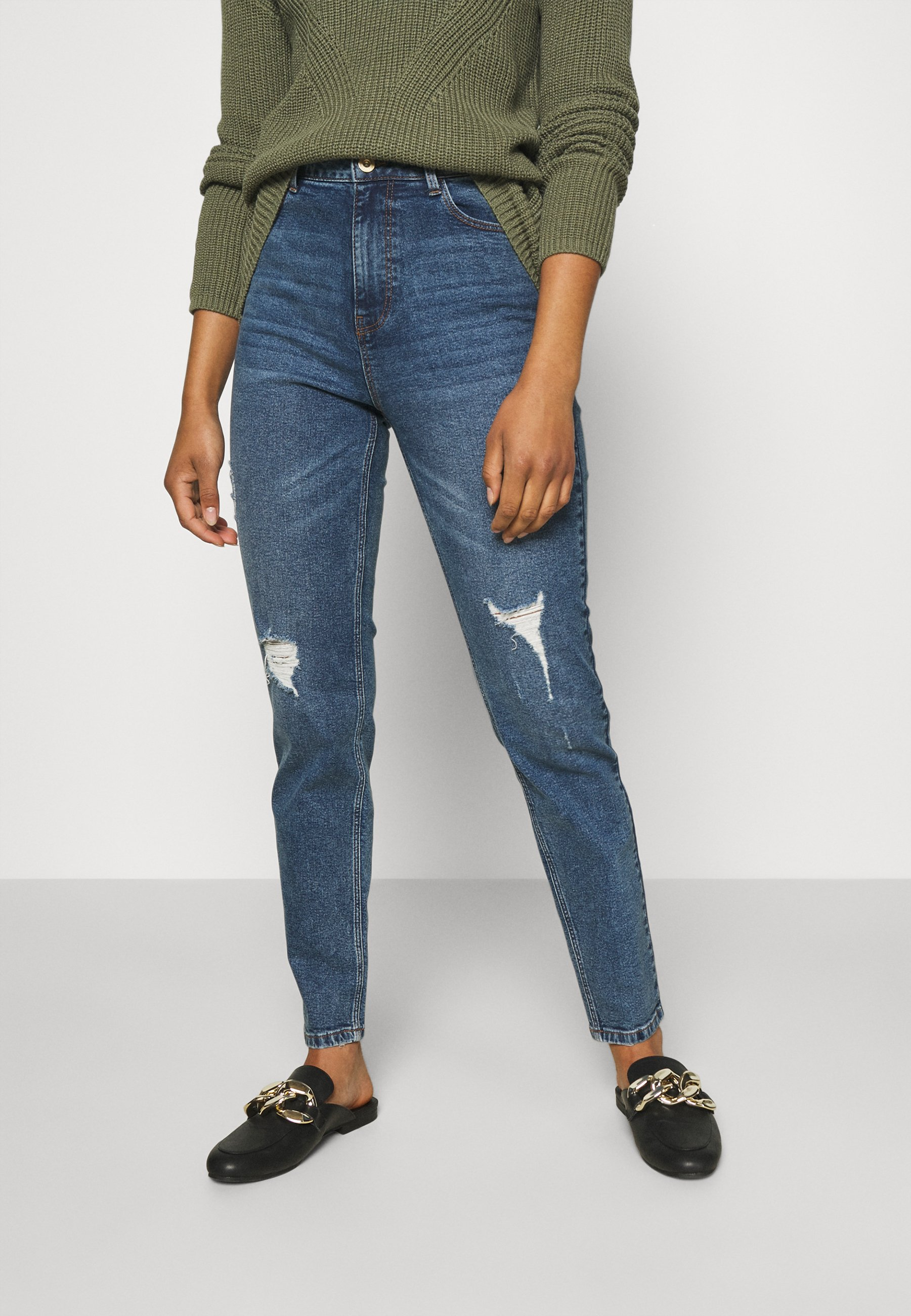 Women PCKESIA  - Jeans Tapered Fit