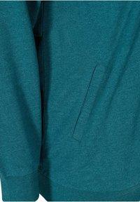 Zizzi - Zip-up hoodie - green - 6