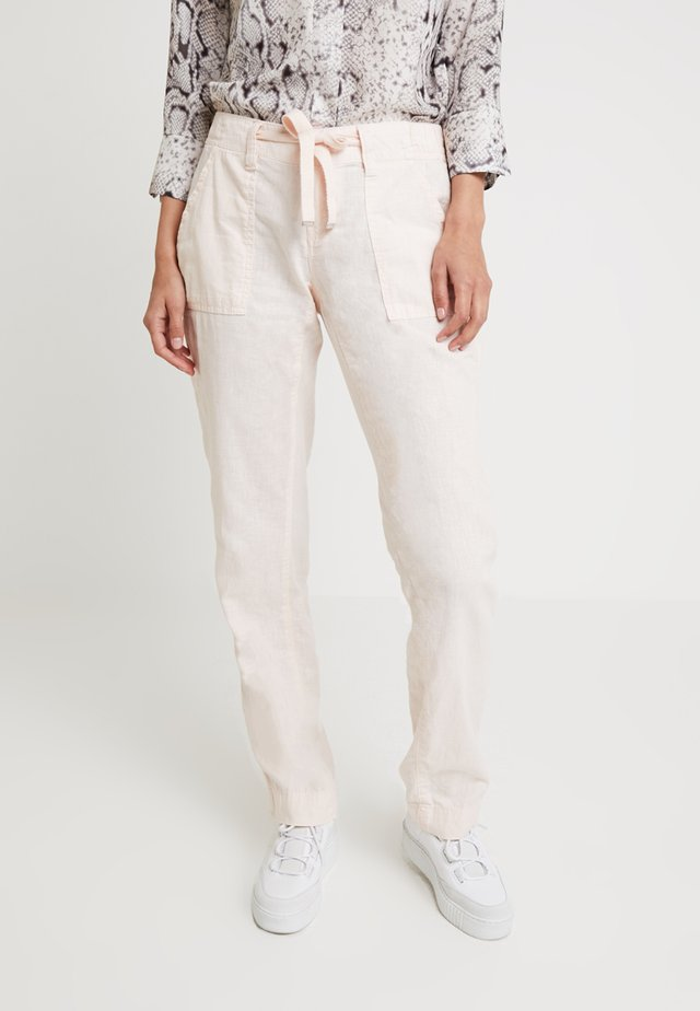 Spodnie materiałowe - apricot